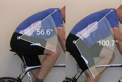 Bike Fit Hip Angles