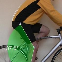 cycling back pain - hip rocking